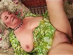 Ancient Granny Loves Sex Poolside (15 Min)