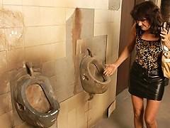 Horny Mature Slut Caught On A Public Toilet^mature Toilet Sluts Mature Porn Sex XXX Mom Video Movie