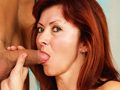 Redhead Granny Gets Dicked!^hot 50 Plus Mature Porn Sex XXX Mom Video Movie